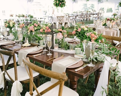 Rustic Wedding, Meet Modern Glam
