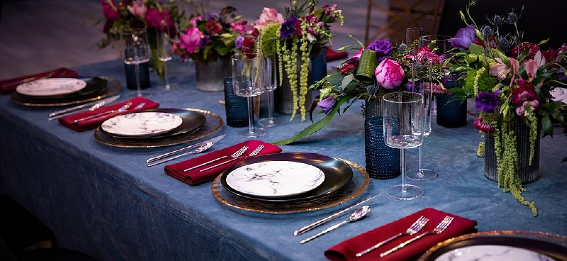 A Jewel Tone Wedding