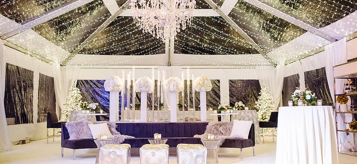 Wisteria & White Winter Wonderland