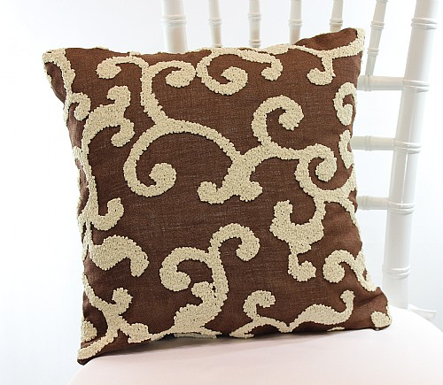 Chocolate Strathcona Pillowcases