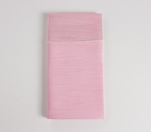 Light Pink Majestic Dinner Napkin (Reversible)