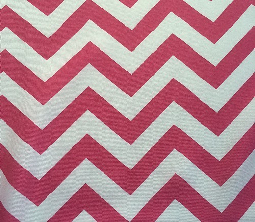 Hot Pink Chevron